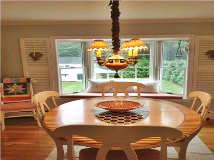 Osterville Osterville vacation rental - Dining area overlooking spacious yard