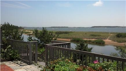 West Yarmouth Cape Cod vacation rental - Looking at Lewis Bay   Great Place to View Fireworks on the 4th