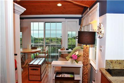 West Yarmouth Cape Cod vacation rental - View from Kitchen    Refridgerator on left