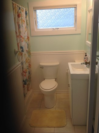 Truro Cape Cod vacation rental - Bathroom: shower,toilet,sink/vanity
