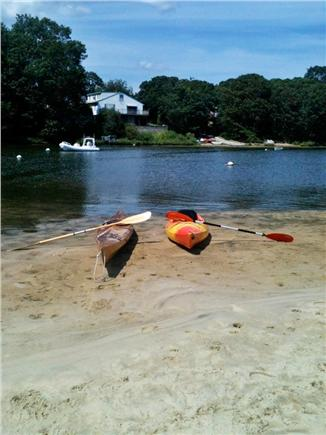 Falmouth Cape Cod vacation rental - Kayaking on Great Pond