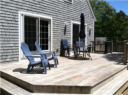 Brewster Cape Cod vacation rental - Spacious Deck