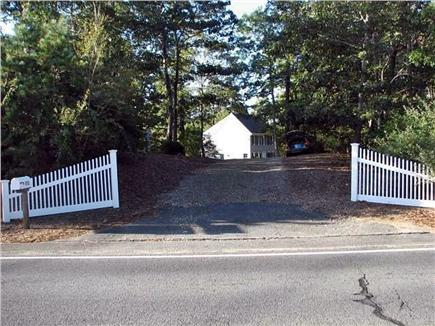 Brewster Cape Cod vacation rental - Driveway from the road