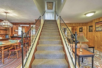 Yarmouth Cape Cod vacation rental - Stairway to the second floor