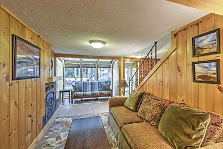 Yarmouth Cape Cod vacation rental - A comfortable living room to relax in
