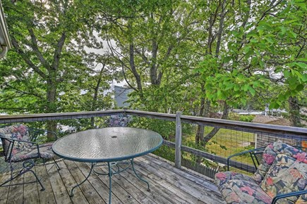Yarmouth Cape Cod vacation rental - Outside deck