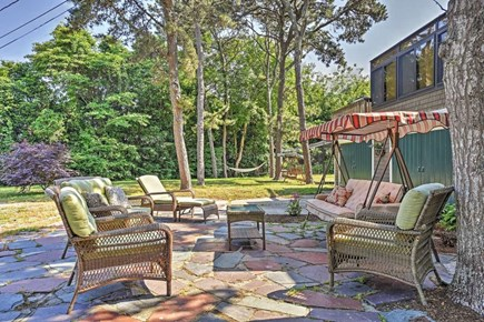 Yarmouth Cape Cod vacation rental - Patio area