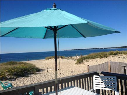 Centerville Centerville vacation rental - Deck overlooking Craigville Beach/Nantucket Sound.