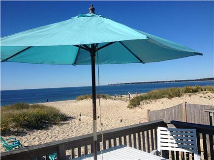 Centerville Centerville vacation rental - Deck overlooking Craigville Beach/Nantucket Sound.