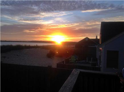 Craigville Beach, Centerville Centerville vacation rental - Deck overlooking ocean, enjoy the sunsets