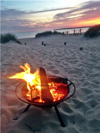 Craigville Beach, Centerville Centerville vacation rental - Enjoy a fire down by the water at night