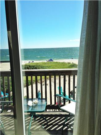 Craigville Beach, Centerville Centerville vacation rental - Oceanfront view from master bedroom deck.