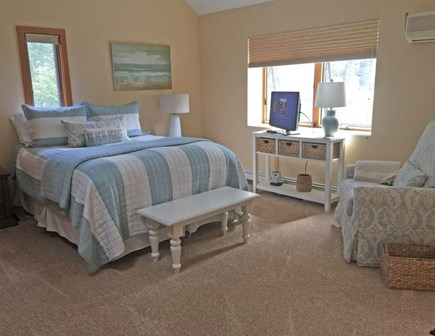 Eastham Cape Cod vacation rental - Master Bedroom (with own bath) upstairs