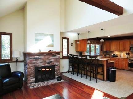 Eastham Cape Cod vacation rental - Living Room- Kitchen