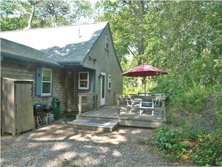 Eastham Cape Cod vacation rental - Eastham vacation rental ID 23993, Deck and Parking