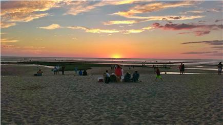 Eastham Cape Cod vacation rental - Campground Beach at Sunset