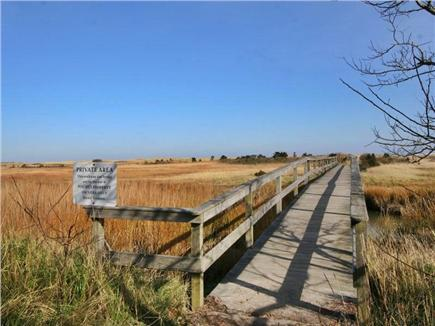 East Orleans Cape Cod vacation rental - Pochet Bridge leading to Nauset Beach
