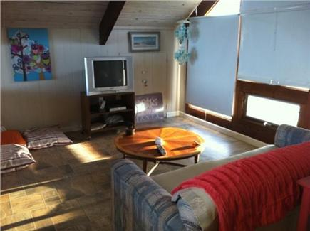 South Wellfleet Cape Cod vacation rental - Loft living area