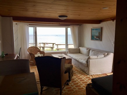 Plymouth MA vacation rental - Oceanfront Living Room