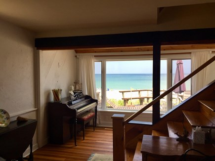 Plymouth MA vacation rental - Piano with ocean view!