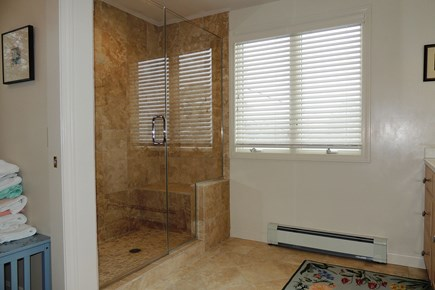 Harwich Cape Cod vacation rental - New Tile Shower