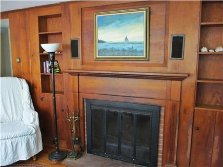 Eastham Cape Cod vacation rental - Fireplace