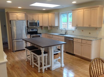 Brewster Cape Cod vacation rental - Bright sunny Kitchen