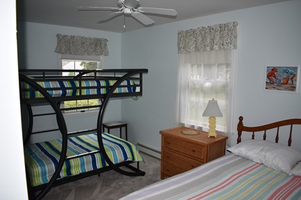 Brewster Cape Cod vacation rental - Additional view with full size bed & full sized Bunk Beds