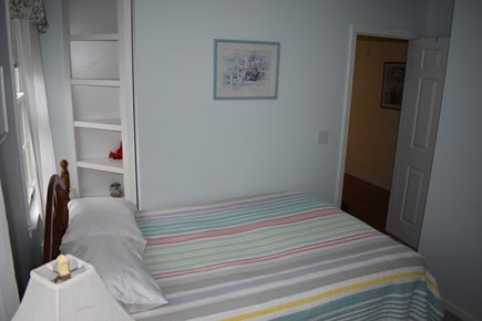 Brewster Cape Cod vacation rental - Bedroom with full size bed & Bunk Beds