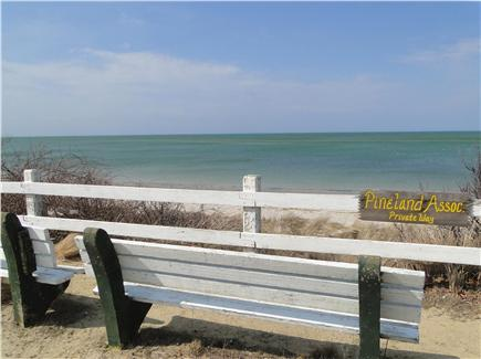 Brewster Cape Cod vacation rental - Walk .2 mile to private, gorgeous bay beach