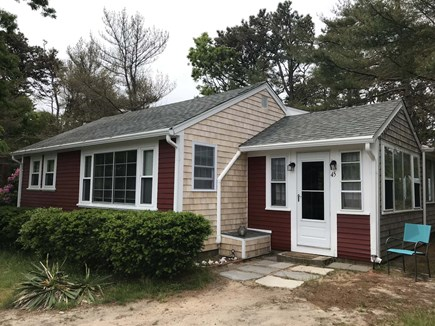 Brewster Cape Cod vacation rental - View of cottage from Skippers Way
