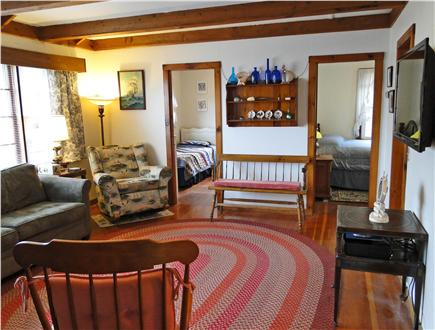 Brewster Cape Cod vacation rental - Cozy living area with flat screen TV