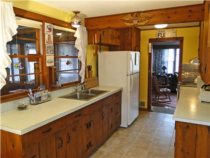 Brewster Cape Cod vacation rental - Kitchen area