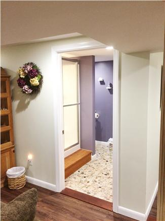 Harwich - Great Sand Lakes  Cape Cod vacation rental - Full bathroom in basement