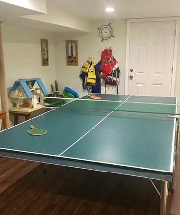 Harwich - Great Sand Lakes  Cape Cod vacation rental - Ping Pong anyone?