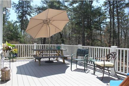 Centerville Centerville vacation rental - Deck, perfect for grilling and chilling