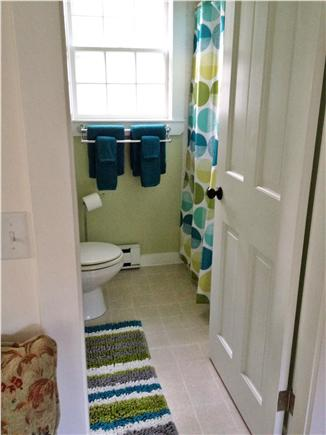 West Barnstable Cape Cod vacation rental - Bathroom with combo tub and shower