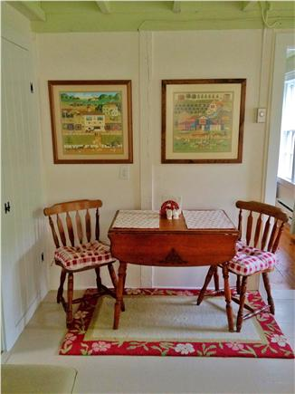 West Barnstable Cape Cod vacation rental - Dining area