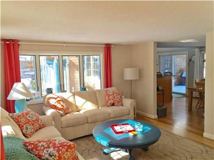 Eastham Cape Cod vacation rental - Open floor plan to kitchen/dining room