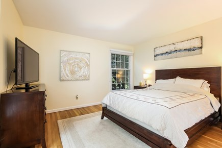 Chatham Cape Cod vacation rental - Large second bedroom with memory foam queen and Amazon Fire TV