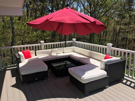 Chatham Cape Cod vacation rental - Gorgeous patio with large dual-fuel (charcoal/gas) grill