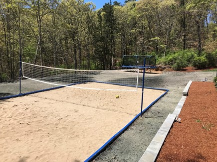 Chatham Cape Cod vacation rental - Beach volleyball and trampoline!