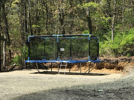 Chatham Cape Cod vacation rental - NEW 2019: 10' x 17' professional trampoline!