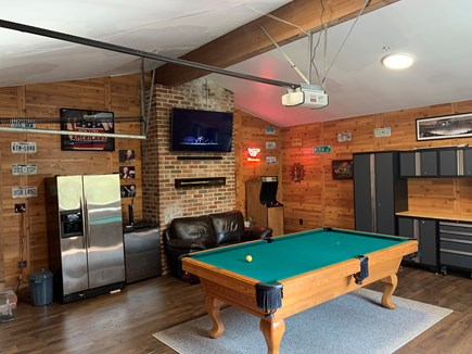 Chatham Cape Cod vacation rental - NEW for 2020: giant open-air pool hall & game room