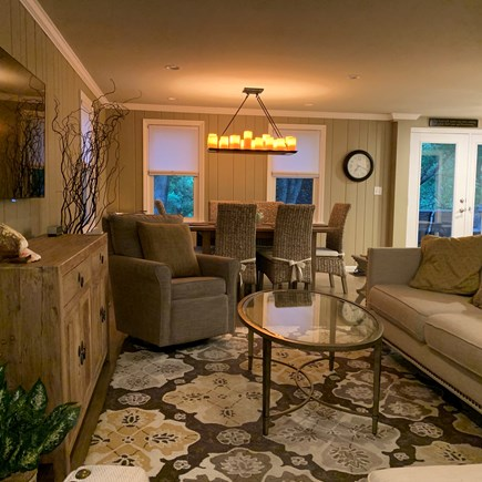 Falmouth - Seacoast Shores Cape Cod vacation rental - Living Room