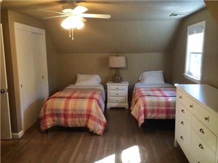 Falmouth - Seacoast Shores Cape Cod vacation rental - 2nd floor bedroom with Queen and two Twins