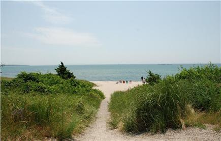 Hyannis  Cape Cod vacation rental - Keyes Beach, you can see the water, walk 3 minutes to beach
