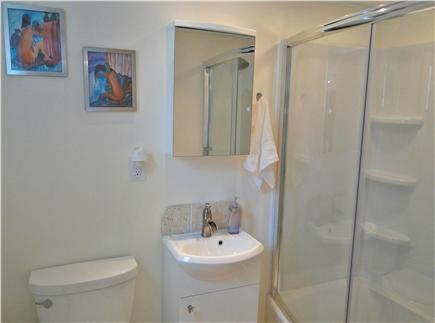 Hyannis  Cape Cod vacation rental - Brand new bathroom with tub, roomy shower