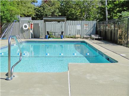 Hyannis  Cape Cod vacation rental - Pool area available to you, adjacent to condo