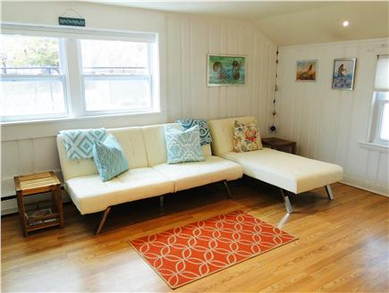 Hyannis  Cape Cod vacation rental - Brand new couch that converts to a lounge and king bed…